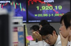 Thị trường chứng khoán thế giới đồng loạt giảm điểm