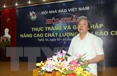 Hội Nhà báo Bắc Giang chú trọng nâng cao hiệu quả hoạt động
