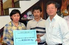 [Video] Chung tay hỗ trợ ngư dân bị tàu Trung Quốc đâm chìm