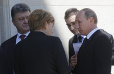 """Putin: Ông Poroshenko """"tiếp cận đúng"""" về khủng hoảng Ukraine"""
