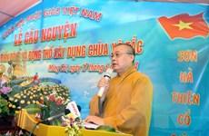 [Photo] Động thổ xây dựng chùa Xã Tắc tại biên giới Việt-Trung