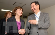 Nhật Bản-Mỹ nối lại đàm phán để thu hẹp bất đồng về TPP