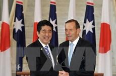 Nhật Bản và Australia ký kết các hiệp định kinh tế, quốc phòng