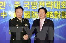 Trung-Hàn tổ chức Đối thoại chiến lược quốc phòng lần tư