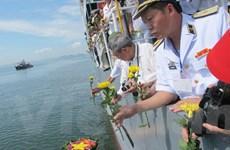 Tưởng niệm quân và dân hy sinh trong chiến thắng trận đầu Hải quân
