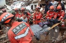 [Video] Số thương vong do động đất ở Trung Quốc tiếp tục tăng