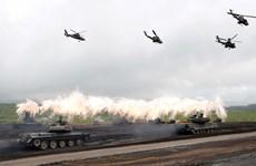 Nga tập trận bắn đạn thật tại căn cứ lớn nhất ở nước ngoài