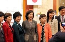 Nhật-Hàn nhất trí đẩy nhanh giải quyết vấn đề phụ nữ mua vui