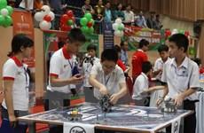 Cuộc thi Robothon Việt Nam-ngày hội của học sinh đam mê robot