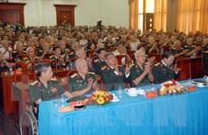 Bộ Tư lệnh Thủ đô gặp mặt tướng lĩnh, sỹ quan quân đội nghỉ hưu