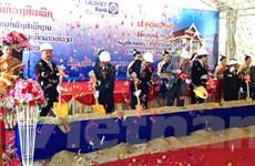 Khởi công chi nhánh Ngân hàng Liên doanh Lào-Việt tại Bắc Lào