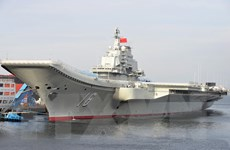 Hải quân Trung Quốc chuẩn bị đóng chiếc tàu sân bay thứ 2