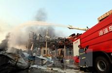 Trung Quốc xác nhận hóa chất độc hại trong 2 vụ nổ ở Thiên Tân