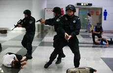 Cảnh sát Trung Quốc và Mông Cổ diễn tập chung chống khủng bố