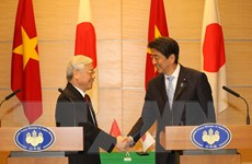 Báo chí Nhật Bản đề cao quan hệ hợp tác Việt Nam-Nhật Bản