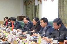 Phó Chủ tịch Quốc hội Tòng Thị Phóng thăm chính thức Liên bang Nga