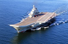 Báo Israel: Trung Quốc điều tàu sân bay tới Syria giúp chống IS