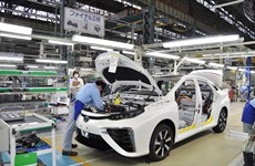 Sản lượng công nghiệp Nhật Bản sụt giảm tháng thứ 2 liên tiếp