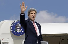 Ngoại trưởng Mỹ John Kerry lần đầu tiên công du 5 nước Trung Á