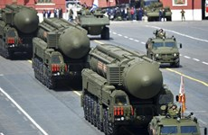 [Video] Nga phóng tên lửa đạn đạo tiêu diệt mục tiêu cách 6.000km