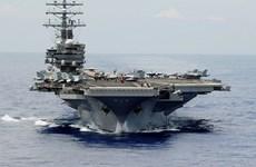 Tàu ngầm tấn công Trung Quốc áp sát tàu sân bay hạt nhân Mỹ