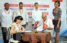 Việt Nam ký thỏa thuận gần 2 triệu USD tại hội chợ La Habana