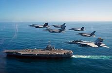 [Photo] Chiêm ngưỡng sức mạnh tàu sân bay của Hải quân Mỹ