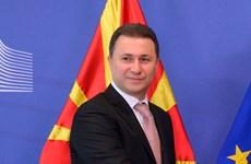 Macedonia cải tổ nội các để giải quyết khủng hoảng chính trị