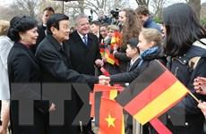 Báo Đức: Chuyến thăm của Chủ tịch nước là sự kiện đỉnh cao