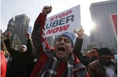 Canada: Biểu tình lớn ở Toronto phản đối dịch vụ taxi Uber