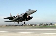 Quân đội Mỹ rút 12 máy bay tiêm kích F-15 khỏi Thổ Nhĩ Kỳ
