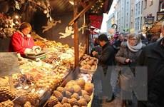 [Photo] Cảm nhận không khí ấm cúng của chợ Giáng sinh tại Đức
