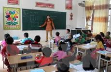 Hà Nội: Học sinh xã Ninh Hiệp đi học trở lại sau nhiều ngày bị ép nghỉ