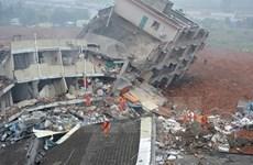 [Video] Trung Quốc bắt giữ 12 người liên quan vụ lở đất ở Thâm Quyến