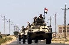 Ai Cập tiêu diệt 15 phần tử cực đoan có liên hệ với IS tại Bắc Sinai