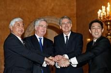 Anh và Nhật Bản tổ chức họp bàn cấp bộ trưởng về vấn đề an ninh