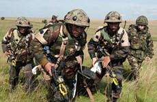 Ấn Độ, Pháp bắt đầu cuộc diễn tập chung về chống khủng bố