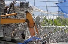 Sập giàn giáo Mỹ Sơn Tower: Điều tra việc thực hiện an toàn thi công