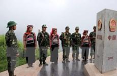 Phối hợp tuần tra biên giới giữa Lào Cai và Vân Nam của Trung Quốc