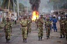 Bạo lực bùng phát ngay khi phái đoàn Liên hợp quốc tới Burundi