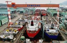 Ngành đóng tàu của Hàn Quốc gặp khó khăn do giá dầu thấp