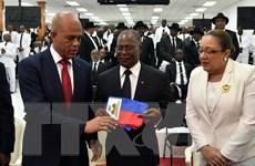 Ông Jocelerme Privert được bầu làm tổng thống lâm thời Haiti