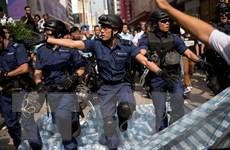 Trung Quốc lên án các vụ đụng độ tại Mong Kok, Hong Kong