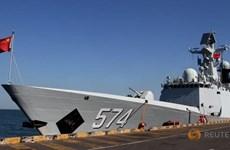 Campuchia, Trung Quốc lần đầu tiên diễn tập hải quân chung