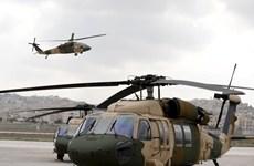 Mỹ cung cấp 8 máy bay trực thăng Black Hawk cho Jordan để chống IS