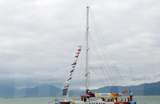 Thuyền buồm Đà Nẵng-Việt Nam kết thúc chặng đua thứ 8 tại Trung Quốc