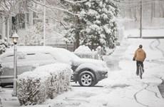 Bão tuyết dữ dội tiếp tục quét qua vùng Trung Tây nước Mỹ