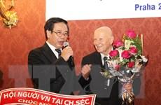 Ghi nhận đóng góp của tác giả bộ Đại từ điển Giáo khoa Séc-Việt