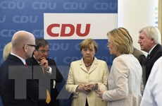 Đức: Tỷ lệ ủng hộ liên đảng bảo thủ xuống thấp nhất kể từ 2012