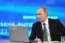 Tổng thống Nga thừa nhận chưa giải quyết được khủng hoảng kinh tế